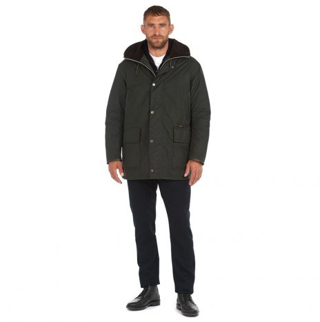 Veste Barbour Gold Standard Supa-Border Sage