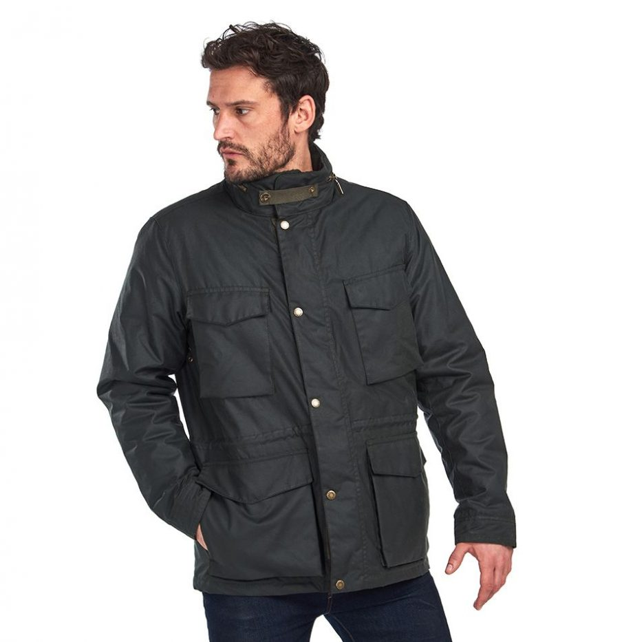 Veste_Barbour_Roble_Wax_Sage