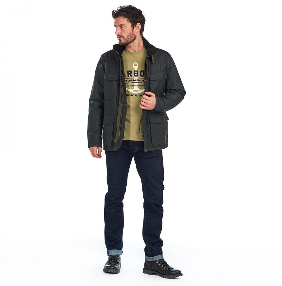 Veste_Barbour_Roble_Wax_Sage_3