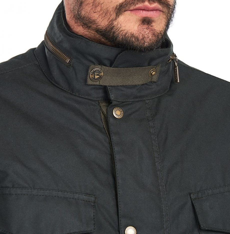 Veste_Barbour_Roble_Wax_Sage_5