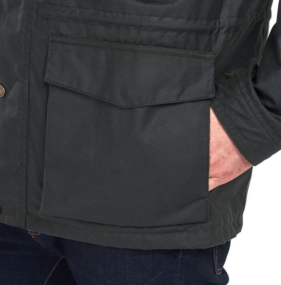 Veste_Barbour_Roble_Wax_Sage_6