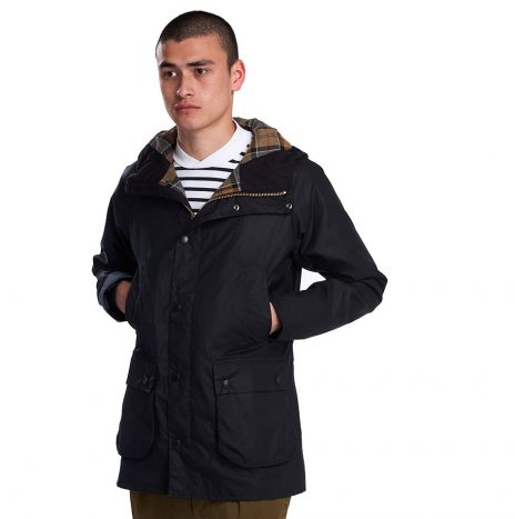 Veste Barbour SL Bedale Hooded Navy