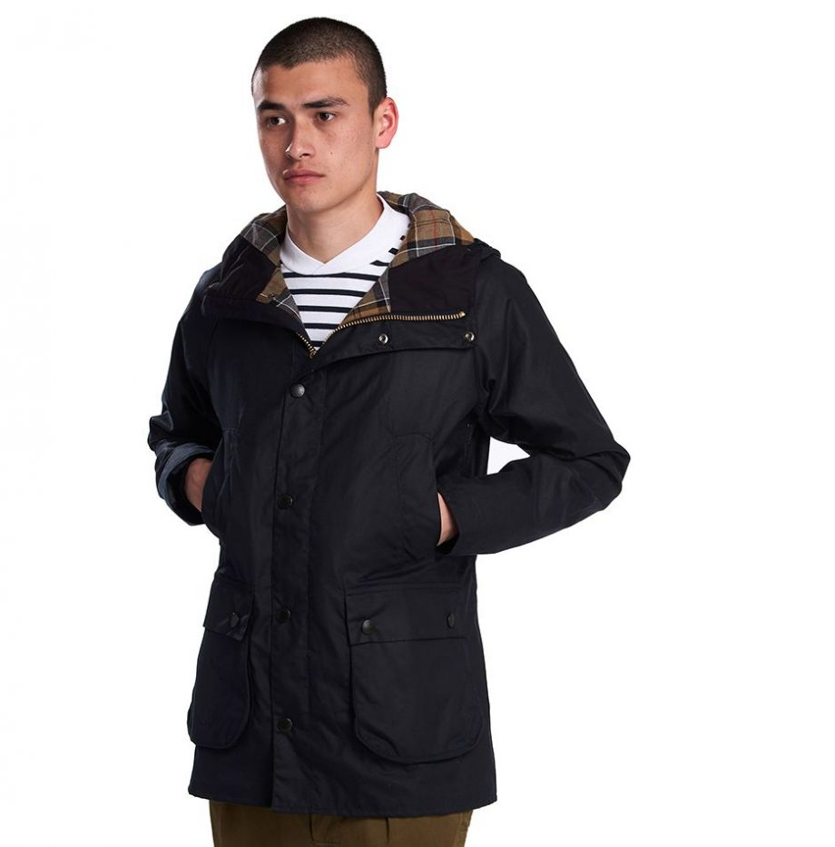 Veste_Barbour_SL_Bedale_Hooded_Navy