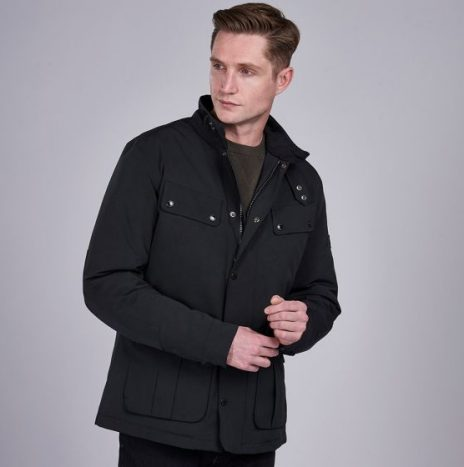 Veste Barbour Waterproof Duke Black