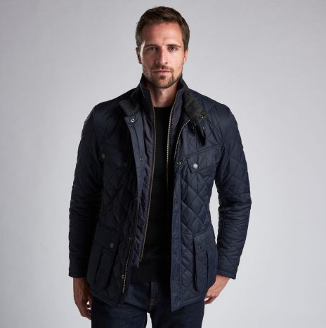Veste Barbour Windshield Quilt Navy