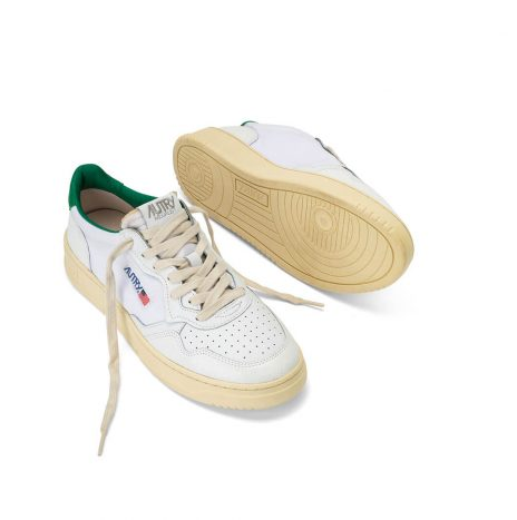 Basket Autry Medalist White/Green
