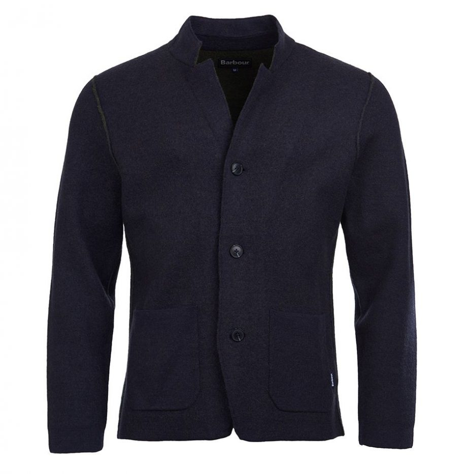 Blazer maille Sudeley Barbour Navy