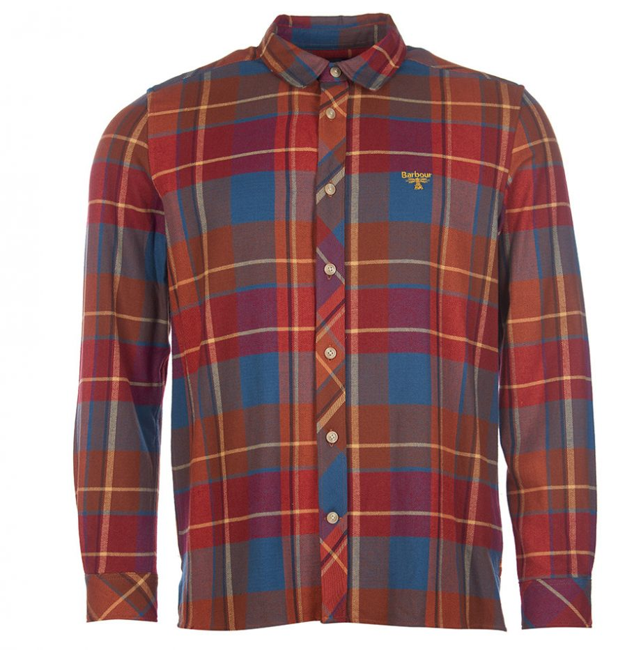 Chemise Barbour Beacon Victor Red