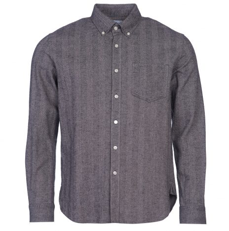 Chemise Barbour Junction Check Grey Marl