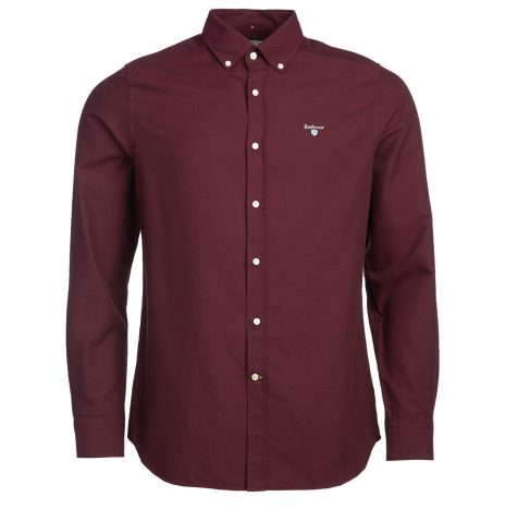 Chemise Barbour Oxford Merlot