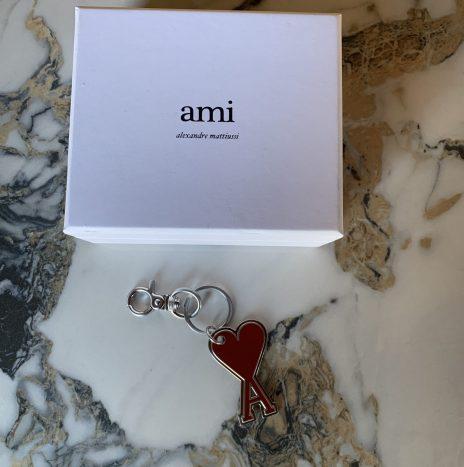 Porte-clés Ami de coeur Rouge