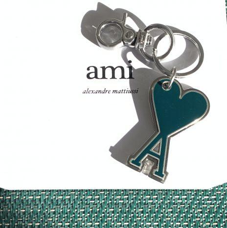Porte-clés Ami de coeur Vert