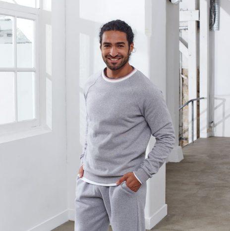 Le Rami Sweatshirt Le Slip Français X St James Gris Chine