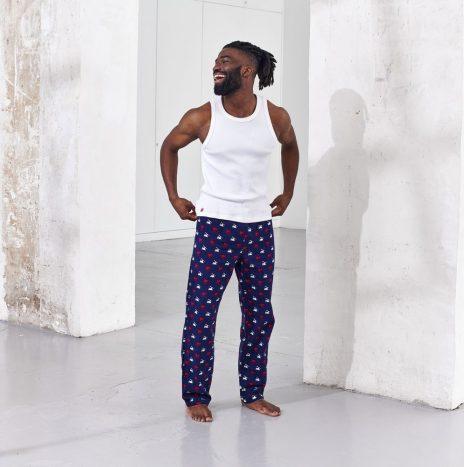 Pantalon de Pyjama Le Slip Francais Le Tanguy Skieur