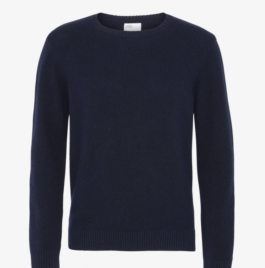 Pull Classic Merinos ColorFul Standard Navy Blue