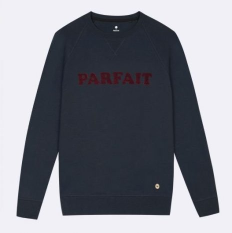 Sweat Parfait Faguo Marine