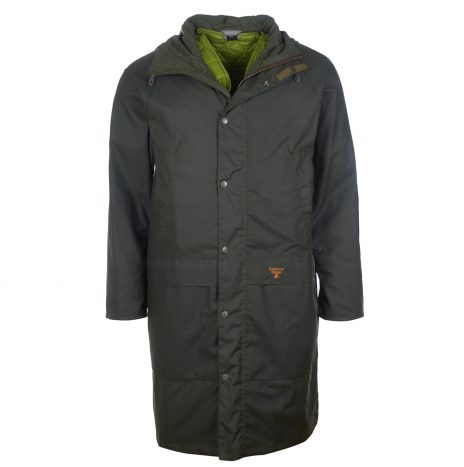 Veste  Barbour Beacon Parka Wax Sage