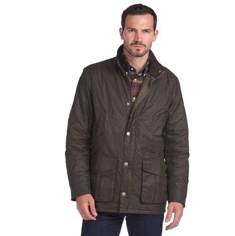 Veste Barbour Hereford Olive
