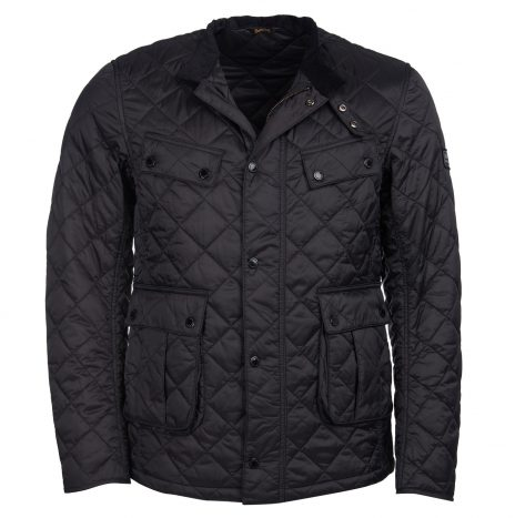 Veste Barbour New Quilted Ariel Black
