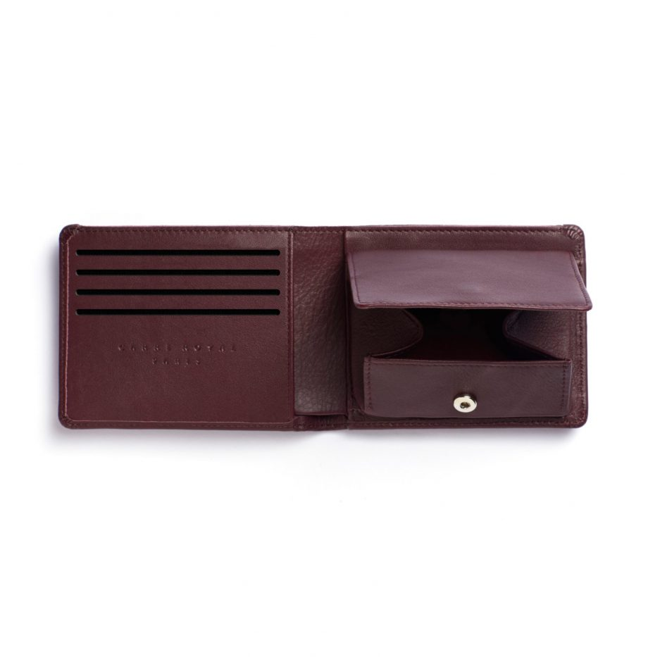 la901-bordeaux-burgundy-minimalist-wallet-with-coin-pocket-open-1-3-scaled