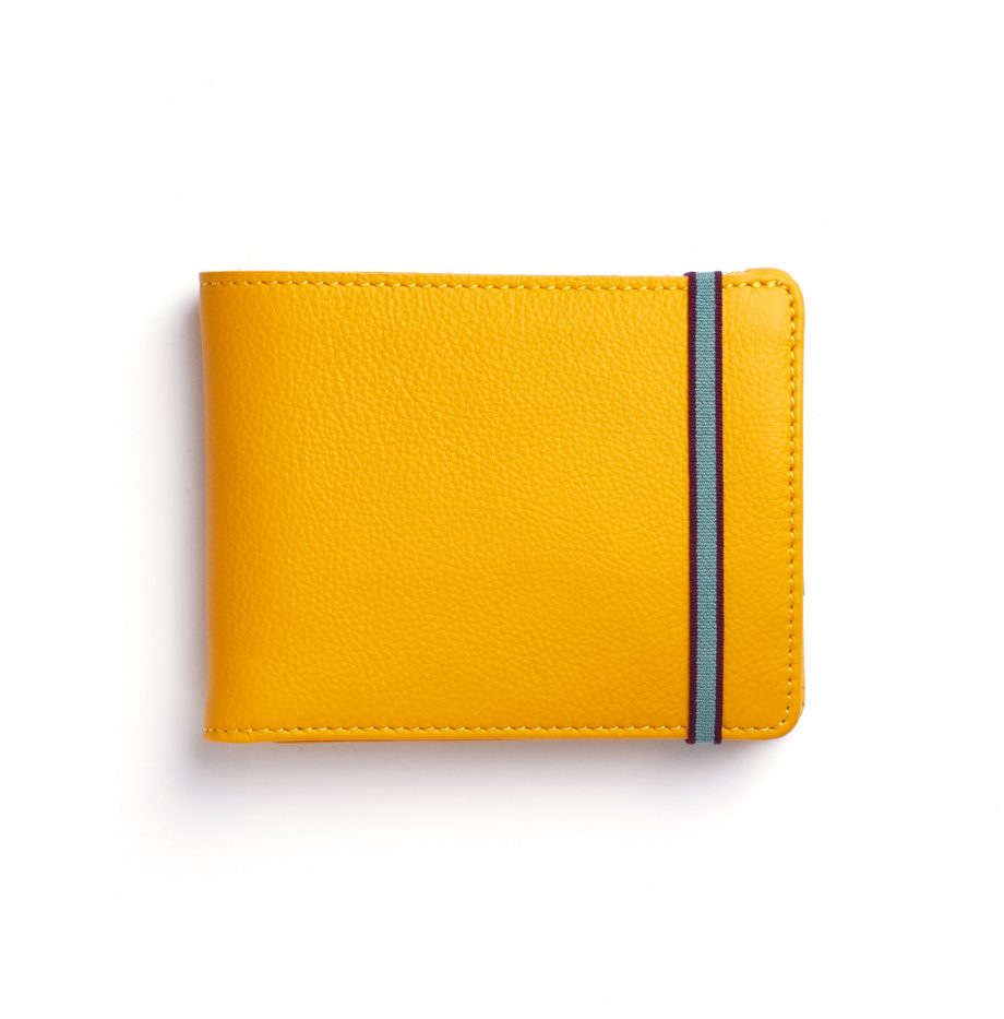 la901-jaune-yellow-minimalist-wallet-with-coin-pocket-front-scaled