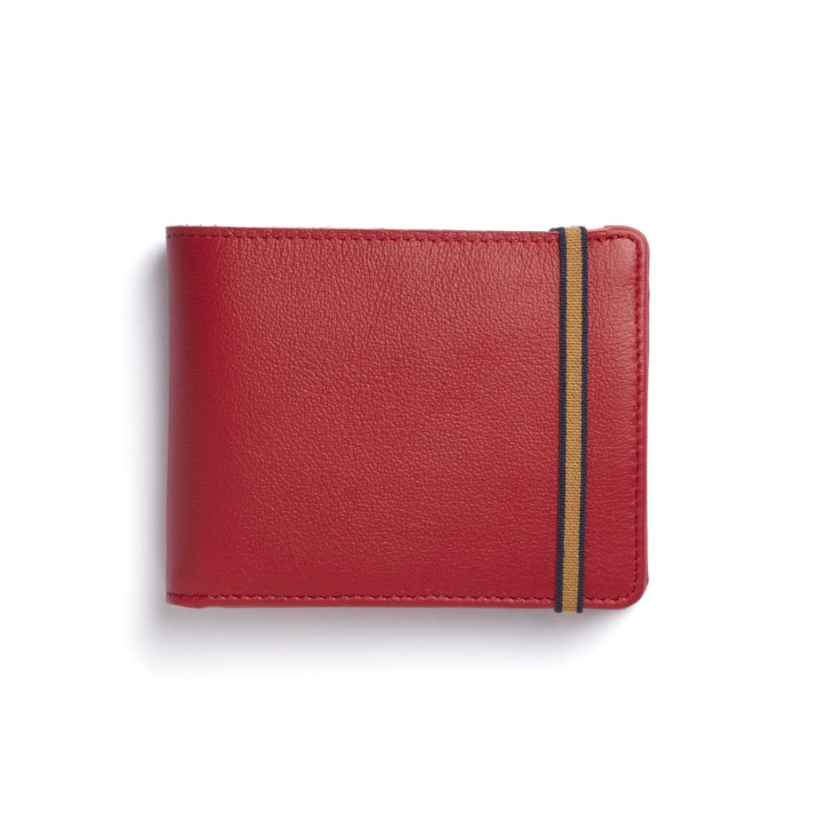 la901-rouge-red-minimalist-wallet-with-coin-pocket-front-scaled