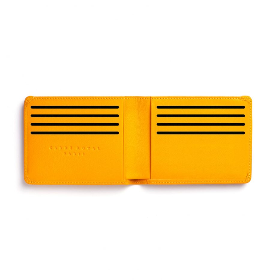 la902-jaune-yellow-minimalist-wallet-open-1-scaled