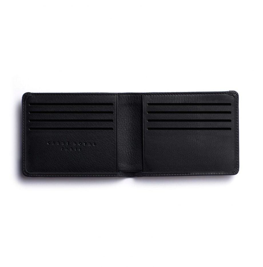 la902-noir-black-minimalist-wallet-open-1-scaled