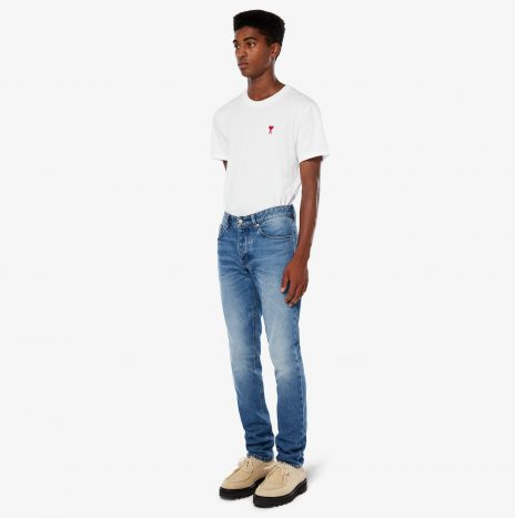 Jeans Ami Fit Bleu Used
