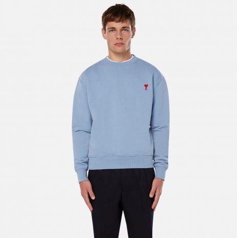 Sweatshirt Ami de Coeur Bleu Clair