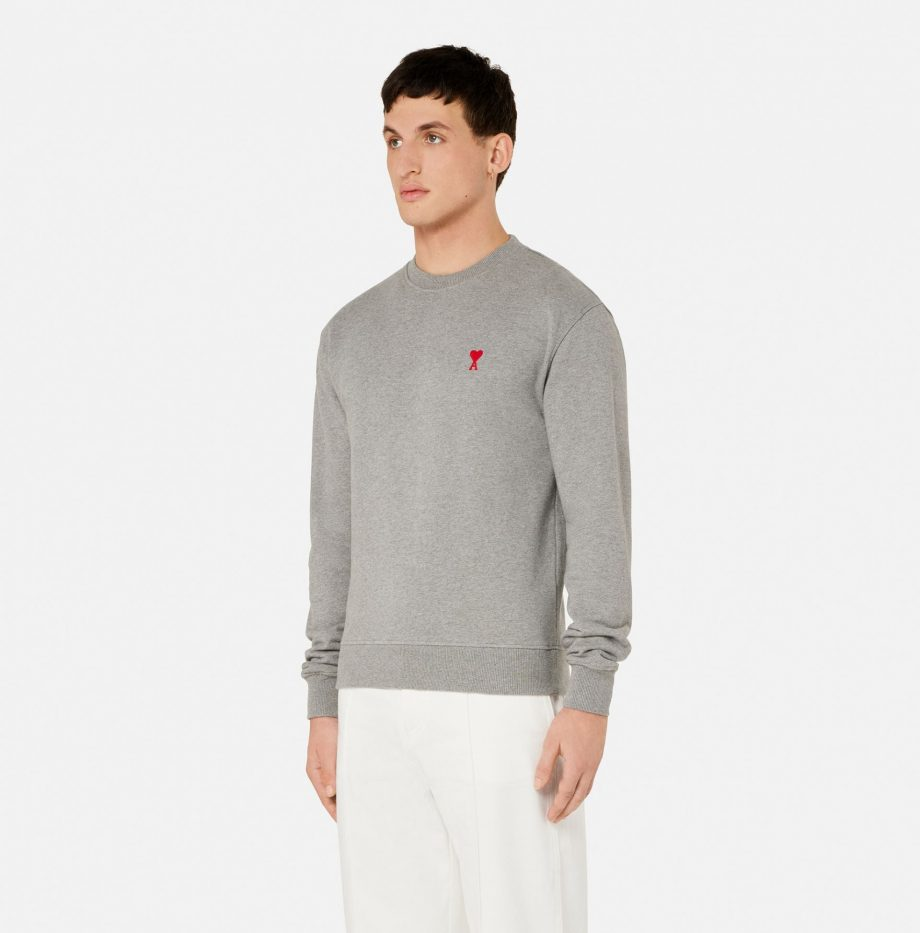 Sweatshirt_Ami_de_Coeur_Gris_Chiné_2