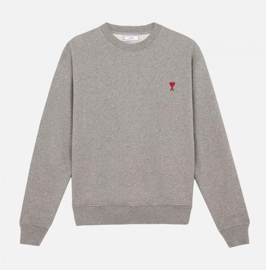 Sweatshirt_Ami_de_Coeur_Gris_Chiné_3