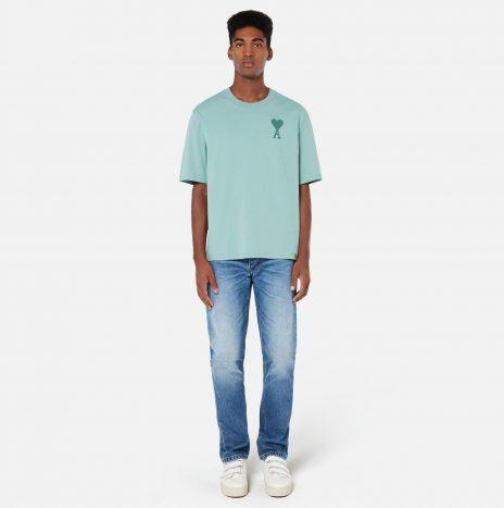 T-shirt Ami de Coeur Vert d'Eau