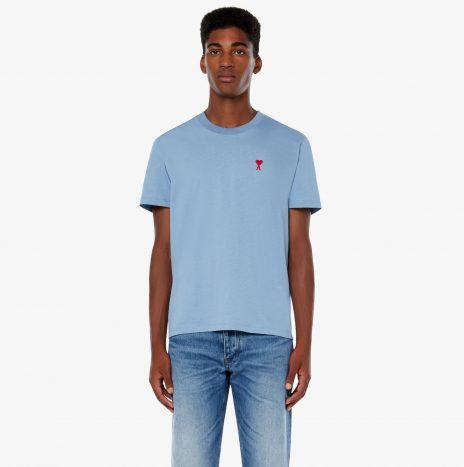 T-shirt Ami de Coeur Bleu Clair