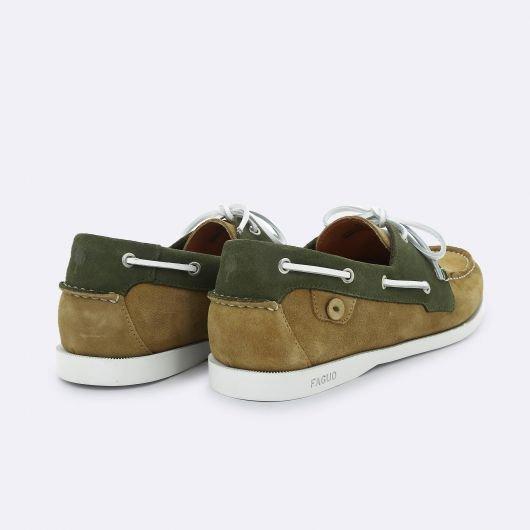 Chaussures_Bateau_Larch_Faguo_Beige:Kaki_