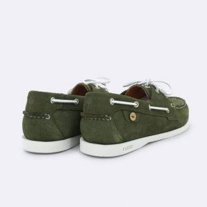Chaussures Bateau Larch Faguo Kaki