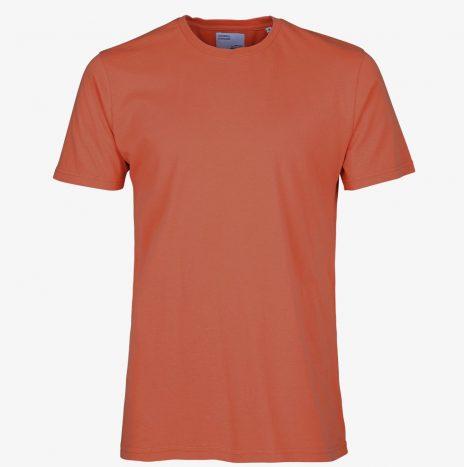 Tee-Shirt Classic Organic Colorful Standard Dark Amber
