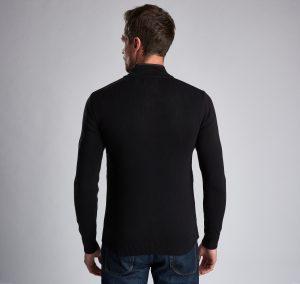 Gilet Baffle Zip Barbour International Black