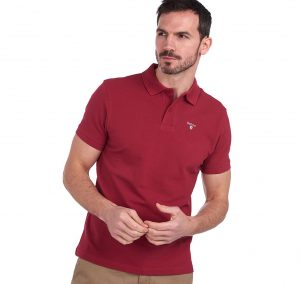 Polo Barbour Sports Polo Raspberry