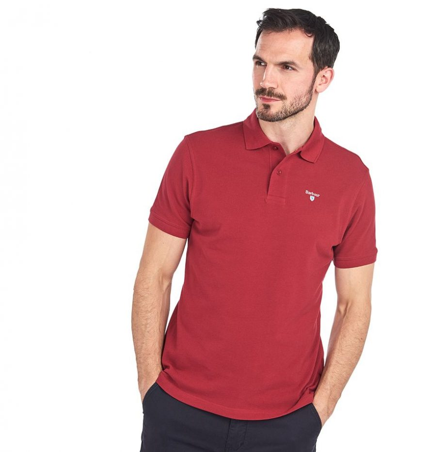 Polo_Barbour_Sport_Polo_Biking_Red