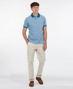Polo Barbour Sports Polo Mix Lyons Blue