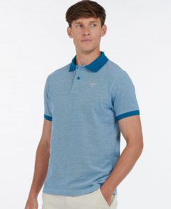 Polo Barbour Sports Polo Mix Lyons Blue