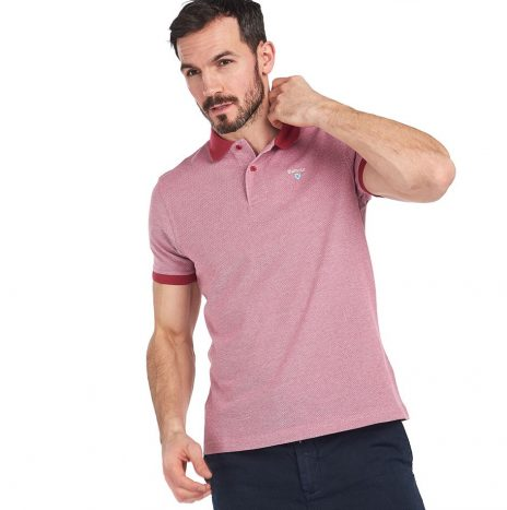 Polo Barbour Sports Polo Mix Rasberry