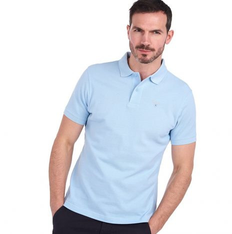 Polo Barbour Sports Polo Sky