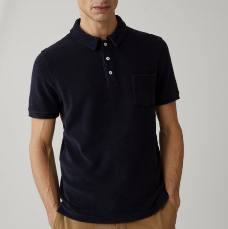 Polo Eponge Closed Dark Night