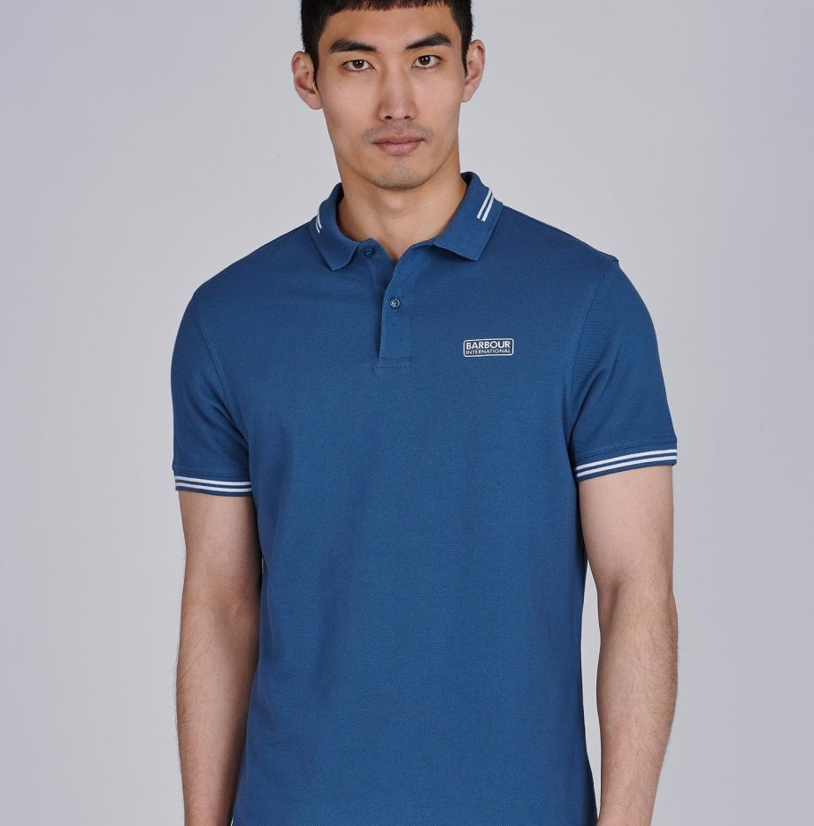 Polo_Essential_Tipped_Barbour_International_Mid_Blue