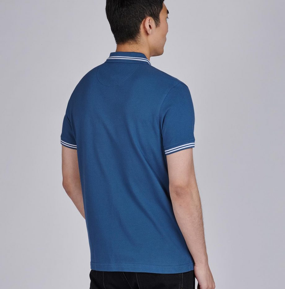 Polo_Essential_Tipped_Barbour_International_Mid_Blue_2