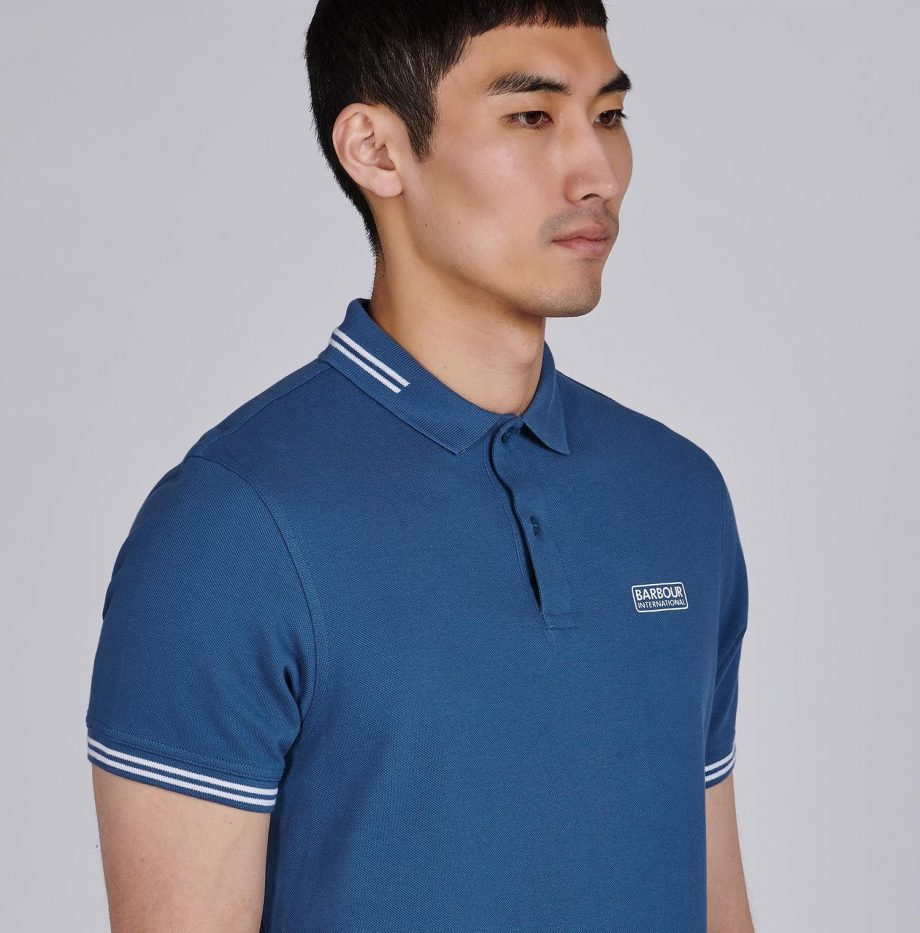 Polo_Essential_Tipped_Barbour_International_Mid_Blue_5