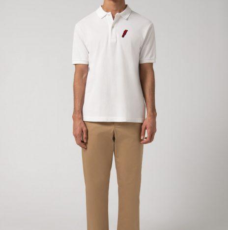 Polo Mation Loreak Mendian Blanc