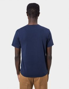 Tee-Shirt Classic Organic Colorful Standard Navy Blue